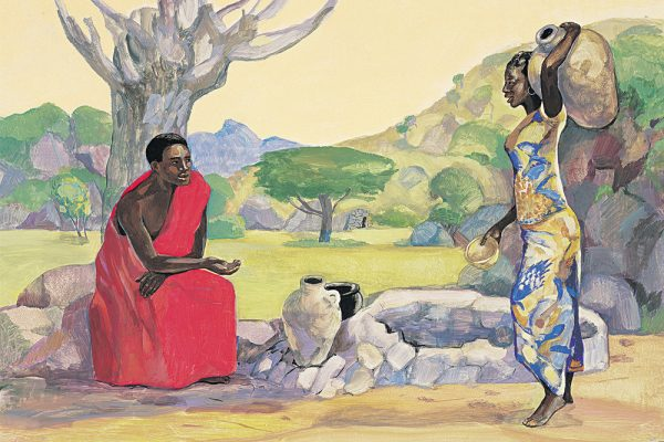 Tile image for A Samaritan woman